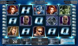Avengers slots